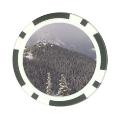 Mountains Poker Chip by DmitrysTravels