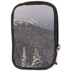 Mountains Compact Camera Leather Case by DmitrysTravels