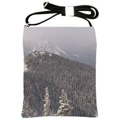 Mountains Shoulder Sling Bag by DmitrysTravels