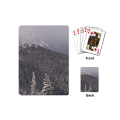 Mountains Playing Cards (mini) by DmitrysTravels