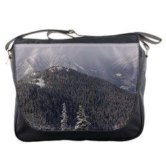 Mountains Messenger Bag by DmitrysTravels