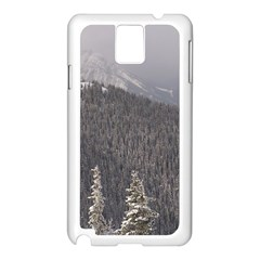 Mountains Samsung Galaxy Note 3 N9005 Case (white) by DmitrysTravels