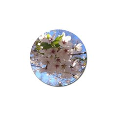 Sakura Golf Ball Marker by DmitrysTravels
