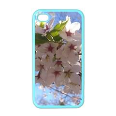 Sakura Apple Iphone 4 Case (color) by DmitrysTravels