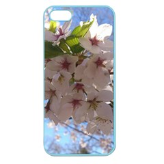 Sakura Apple Seamless Iphone 5 Case (color) by DmitrysTravels