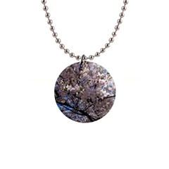 Sakura Tree Button Necklace by DmitrysTravels