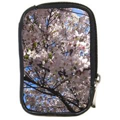 Sakura Tree Compact Camera Leather Case by DmitrysTravels