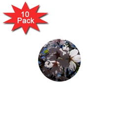 Cherry Blossoms 1  Mini Button (10 Pack) by DmitrysTravels