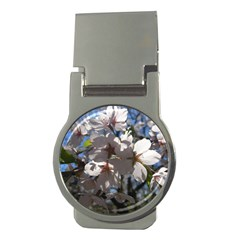 Cherry Blossoms Money Clip (round) by DmitrysTravels