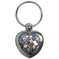 Cherry Blossoms Key Chain (heart) by DmitrysTravels
