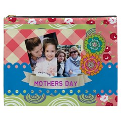 Mothers Day By Mom   Cosmetic Bag (xxxl)   Kacj4pcy9n18   Www Artscow Com Front