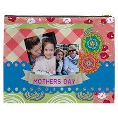 Mothers Day By Mom   Cosmetic Bag (xxxl)   Kacj4pcy9n18   Www Artscow Com Back
