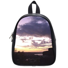 Sunset Over The Valley School Bag (small) by Majesticmountain