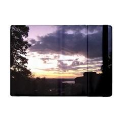 Sunset Over The Valley Apple Ipad Mini Flip Case by Majesticmountain
