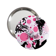Fantasy In Pink Handbag Mirror (2 25 ) by StuffOrSomething