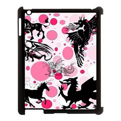 Fantasy In Pink Apple Ipad 3/4 Case (black) by StuffOrSomething