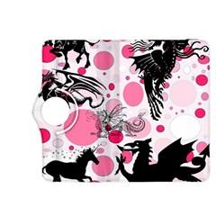 Fantasy In Pink Kindle Fire Hdx 8 9  Flip 360 Case by StuffOrSomething