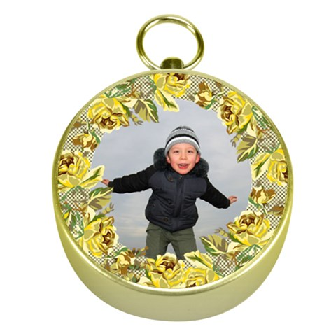Boy Gold Compass By Deborah   Gold Compass   N9lygn2thc67   Www Artscow Com Front