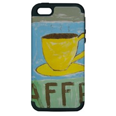 Kaffe Painting Apple Iphone 5 Hardshell Case (pc+silicone) by StuffOrSomething