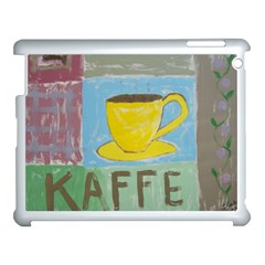 Kaffe Painting Apple Ipad 3/4 Case (white) by StuffOrSomething