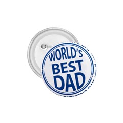 Fathers Day Rubber Stamp Effect 1 75  Button by Zandiepants