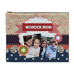 Mothers Day By Mom   Cosmetic Bag (xl)   H0ualaerz3yg   Www Artscow Com Front