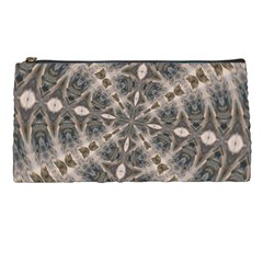 Flowing Waters Kaleidoscope Pencil Case by Fractalsandkaleidoscopes
