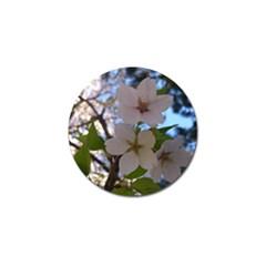 Sakura Golf Ball Marker 4 Pack by DmitrysTravels
