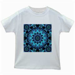 Star Connection, Abstract Cosmic Constellation Kids T Shirt (white) by DianeClancy