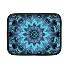 Star Connection, Abstract Cosmic Constellation Netbook Sleeve (small) by DianeClancy