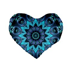 Star Connection, Abstract Cosmic Constellation 16  Premium Heart Shape Cushion  by DianeClancy
