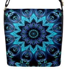 Star Connection, Abstract Cosmic Constellation Flap Closure Messenger Bag (small) by DianeClancy