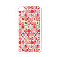 Far Out Geometrics Apple Iphone 4 Case (white) by StuffOrSomething
