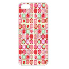 Far Out Geometrics Apple Iphone 5 Seamless Case (white) by StuffOrSomething