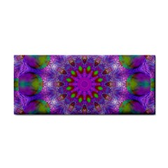Rainbow At Dusk, Abstract Star Of Light Hand Towel by DianeClancy