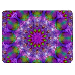 Rainbow At Dusk, Abstract Star Of Light Samsung Galaxy Tab 7  P1000 Flip Case by DianeClancy