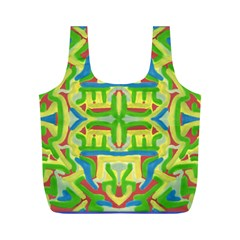 Fauxmexicanbag By Jean Petree   Full Print Recycle Bag (m)   7bl81fz4l8ji   Www Artscow Com Front