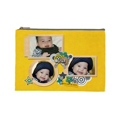 Cosmetic Bag (l): Boys1 By Jennyl   Cosmetic Bag (large)   8udq0g8302p3   Www Artscow Com Front