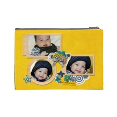 Cosmetic Bag (l): Boys1 By Jennyl   Cosmetic Bag (large)   8udq0g8302p3   Www Artscow Com Back