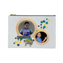 Cosmetic Bag (l) : Boys2 By Jennyl   Cosmetic Bag (large)   Yg7qeoc520s5   Www Artscow Com Front