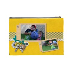 Cosmetic Bag (l): Boys3 By Jennyl   Cosmetic Bag (large)   Ms3ujw4tj278   Www Artscow Com Back