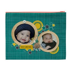 Cosmetic Bag (xl): Just Like Dad By Jennyl   Cosmetic Bag (xl)   O0ly4m4v2gc9   Www Artscow Com Back