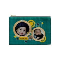Cosmetic Bag (m): Just Like Dad By Jennyl   Cosmetic Bag (medium)   4ow3a8uxynvr   Www Artscow Com Front