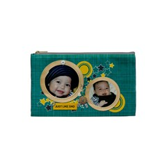 Cosmetic Bag (s)   Just Like Dad By Jennyl   Cosmetic Bag (small)   C6y1kta7jd1z   Www Artscow Com Front