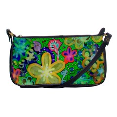 Beautiful Flower Power Batik Evening Bag by rokinronda
