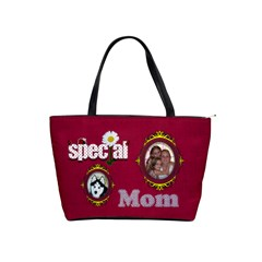 Special Mom Classic Handbag By Joy Johns   Classic Shoulder Handbag   1mgrvenj5e77   Www Artscow Com Front