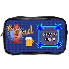 Dad s Toiletries Bag By Joy Johns   Toiletries Bag (two Sides)   Faltnr8p5zjz   Www Artscow Com Back