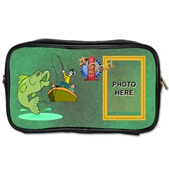 Fishing Dad s Toiletries Bag  By Joy Johns   Toiletries Bag (two Sides)   W91y6o0ozurj   Www Artscow Com Front