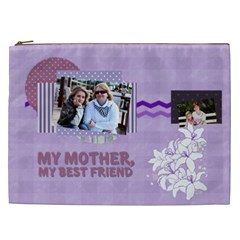 Mothers Day By Mom   Cosmetic Bag (xxl)   3o8o8bimao25   Www Artscow Com Front