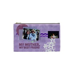 Mothers Day By Mom   Cosmetic Bag (small)   Dcgiehogmy4y   Www Artscow Com Front